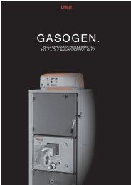 HOLZVERGASER-HEIZKESSEL G3 HOLZ – ÖL-/ GAS ...