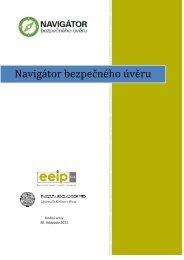 Navigátor bezpečného úvěru Navigátor bezpečného úvěru - EEIP, as