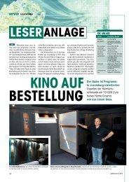 Leseranlage KiNo AUF BESTELLUNG - Heimkinoschmiede.de