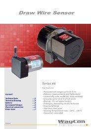 Draw Wire Sensor HX