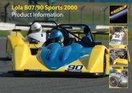 Lola B07/90 Sports 2000 Product Information