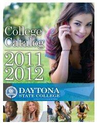 PDF Catalog - Daytona State College