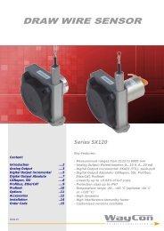 DRAW WIRE SENSOR SX120