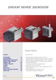 DRAW WIRE SENSOR SX135