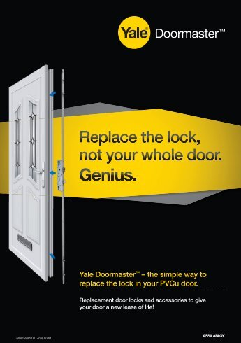Doormaster A5 Leaflet - Yale Door and Window Solutions, Locks ...