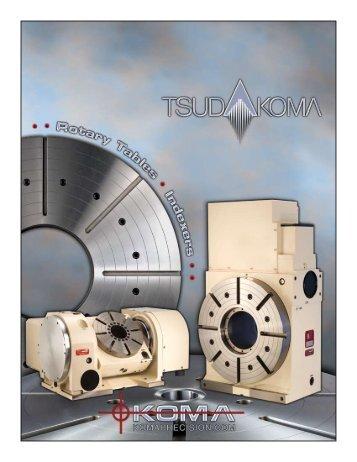 Koma Precision Tsudakoma Catalog - CNC Engineering, Inc.