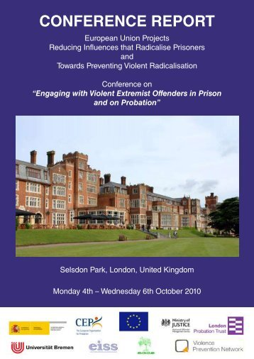 Conference Report: Selsdon Park, London (pdf, 1.6 MB) - EXOCoP