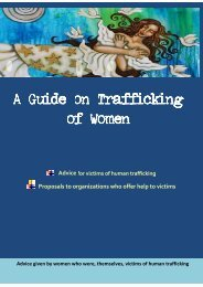 A Guide on Trafficking Trafficking of Women