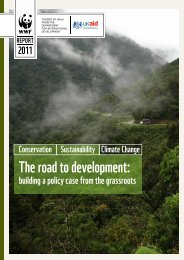 The road to development: - WWF UK