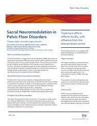 Sacral Neuromodulation in Pelvic Floor Disorders - International ...