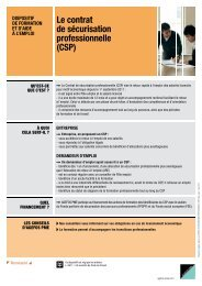Fiche CSP - Agefos PME