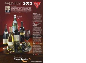 WEINFEST 2012 - Ringeltaube