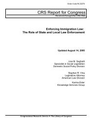 Enforcing Immigration Law: The Role of State and ... - FosterQuan