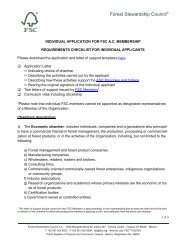 Requirement Checklist for Individual Applicants PDF, Size - Forest ...