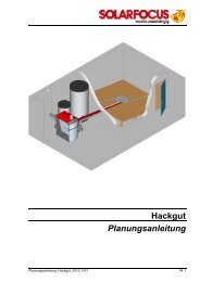 Hackgut Planungsanleitung - Solarfocus