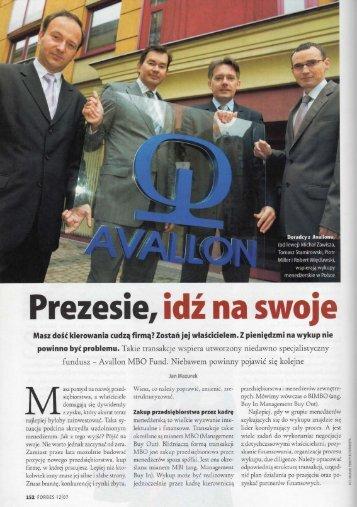 Forbes - Avallon