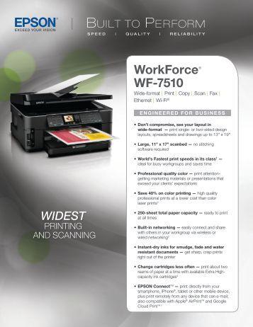 Workforce® WF-7510