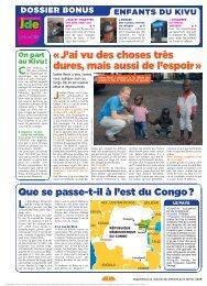 Les enfants du Kivu - L'avenir