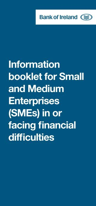 Information booklet for Small and Medium ... - Business Banking