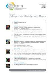 Nº 1 Español - Revista de Osteoporosis y Metabolismo Mineral