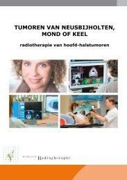 Tumoren van neusbijholten, mond of keel (pdf) - Instituut Verbeeten