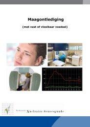 Maagontlediging (pdf) - Instituut Verbeeten
