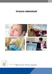 Ureum-ademtest (pdf) - Instituut Verbeeten