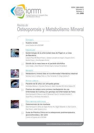 Osteoporosis y Metabolismo Mineral - Ibanezyplaza.com