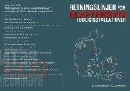 Retningslinjer for boliginstallationer - CELFs