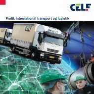 Profil: International transport og logistik - CELFs