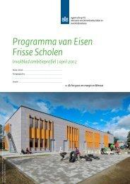 Frisse Scholen PvE Invulblad - april'12-2.pdf - Agentschap NL
