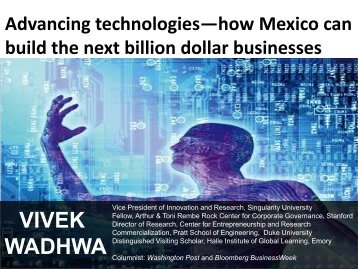 Advancing Technologies How Mexico Can Build The Next ... - Prosoft