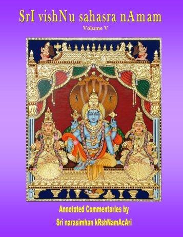 Vishnu Sahasra Naamam-Vol V-Rr-edit.pub - Ahobilavalli