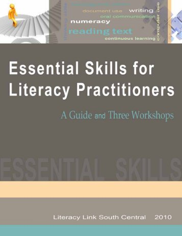 Essential Skills for Literacy Practitioners: A Guide and Three ...