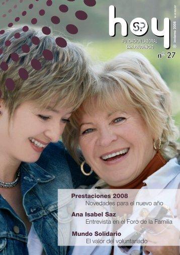 28/01/2008. SAN PRUDENCIO HOY Nº 27 INVIERNO 08 (2,21 Mb.)
