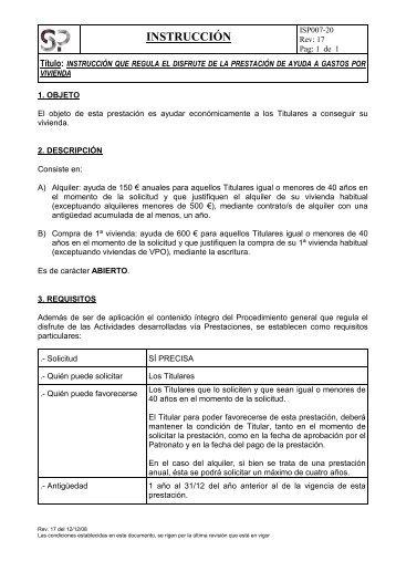 INSTRUCCIÓN - Fundación Laboral San Prudencio