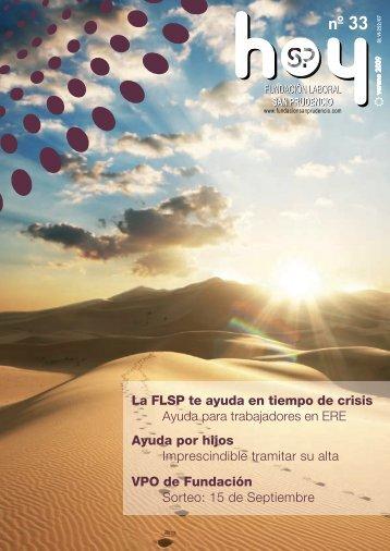 29/06/2009. SAN PRUDENCIO HOY Nº 33 verano 09 (2,84 Mb.)