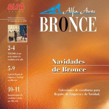 2-4 5-9 10-11 Navidades de Bronce Navidades de Bronce - Alfa Arte