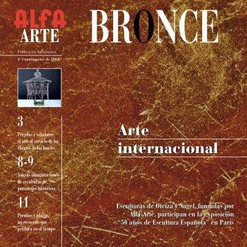 3 8-9 11 Arte internacional Arte internacional - Alfa Arte