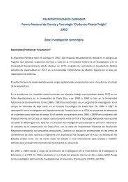 Francisco Pacheco Carranza - Consejo Nacional para ...