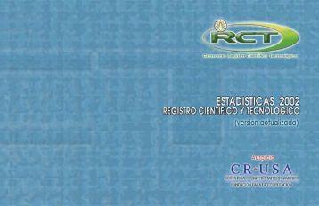contenido - Registro Científico y Tecnológico - Consejo Nacional ...