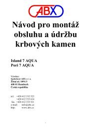 Návod Pori 7 Tv,Island 7 TV text - Krbová kamna, krbové vložky, krby ...