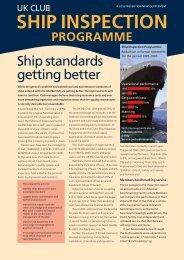 Ship Inspection Programme - UK P&I Members Area