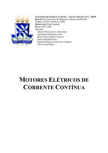 6- Rendimento dos Motores de CC - Eletronica.org