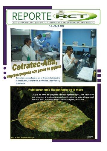 Julio 2012 - Consejo Nacional para Investigaciones Científicas y ...