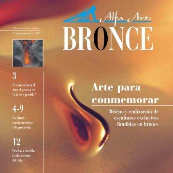 3 4-9 12 Arte para conmemorar - Alfa Arte