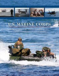 USMC Concepts & Programs 2013 - Defense Innovation Marketplace