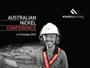 October 2012 - Mirabela Nickel