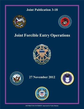 Joint Forcible Entry Operations - Defense Innovation Marketplace