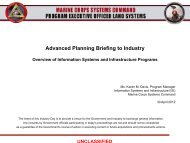 Advanced Planning Briefing to Industry - Defense Innovation ...